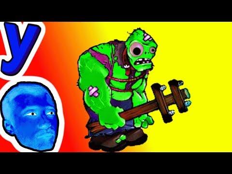 СУПЕР БИТВА! Мозги ПРоХоДиМЦа против Зомби ГАРГАНТЮА #336 Мультик ИГРА Детям - Растения против ЗОМБИ (видео)