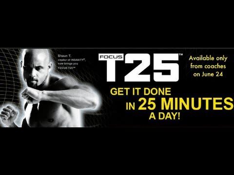 Focus 25 (Insanity workout in 25 minutes)