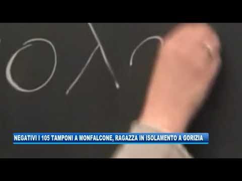 16/09/2020 - TUTTI NEGATIVI I TAMPONI A MONFALCONE, RAGAZZA IN ISOLAMENTO A GORIZIA