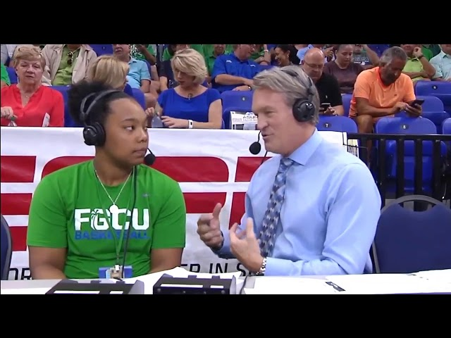 China Dow int @ halftime of 2018 ASUN MBB - UNF FGCU