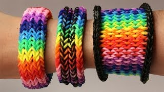 Rainbow Loom Nederlands - 3-in-1 Dragon Scale Tail || Loom bands, rainbow loom, tutorial - YouTube