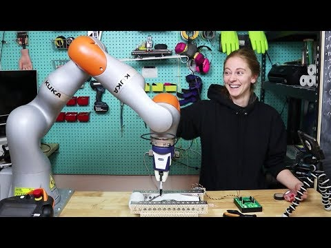 Download Video I Made 2000 Ugly Holiday Cards With A $100k Robot Arm