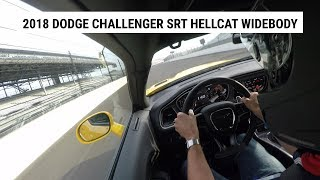 Hitting just above 140mph at Indianapolis Motor Speedway Road Course with the 2018 Dodge Challenger SRT Hellcat Widebody.Get more AutoblogRead: http://www.autoblog.comLike: http://on.fb.me/13uhpVbFollow: http://twitter.com/therealautoblog