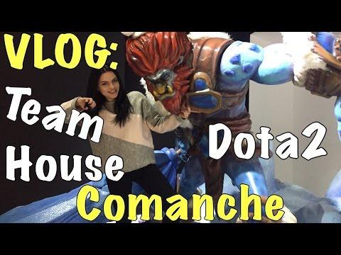 Vlog: Лена Комар и Comanche/ Dota 2
