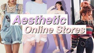 8 AESTHETIC ONLINE STORES // Tumblr