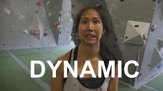 Xian gets DYNAMIC by Bouldering Bobat
