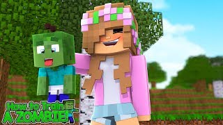 HOW TO TRAIN YOUR ZOMBIE! #1   Minecraft Little Kelly
