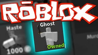 BUYING THE GHOST PERK - ROBLOX MURDER MYSTERY 2