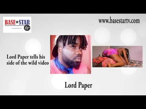 Lord Paper tells why he did the video tape (audio)