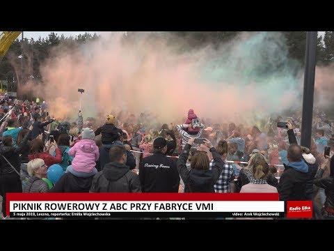 Wideo1: Piknik Rowerowy z ABC przy fabryce VMI