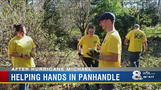 Mormon Helping Hands help clean up Florida Panhandle after Hurricane Michael