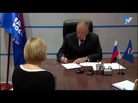 Губернатор Сергей Митин провел прием граждан