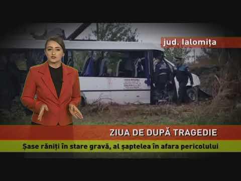 Șase răniți în stare gravă, al șaptelea în afara pericolului, în urma accidentului din Ialomița