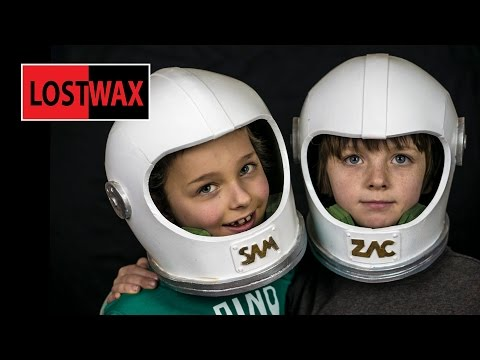 How To Make A Space Helmet, DIY Astronaut Halloween Costume From Foam!