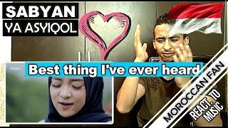 Video Arab React To | YA ASYIQOL VERSI SABYAN  || MOROCCAN REACT MP3, 3GP, MP4, WEBM, AVI, FLV Februari 2019