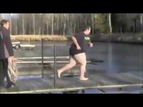 Fat Guy Lake Cannonball Fail