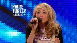 Hurley United Kingdom  city photo : Paige Turley Skinny Love - Britain's Got Talent 2012 audition - International version