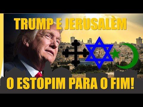 TRUMP E O RECONHECIMENTO DE JERUSALÉM - O ESTOPIM ACENDEU! (видео)