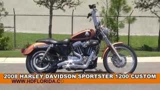 6. Used 2008 Harley Davidson Sportster 1200 Custom Motorcycles for sale