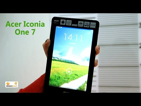 Обзор многофункционального планшета Acer Iconia One 7
