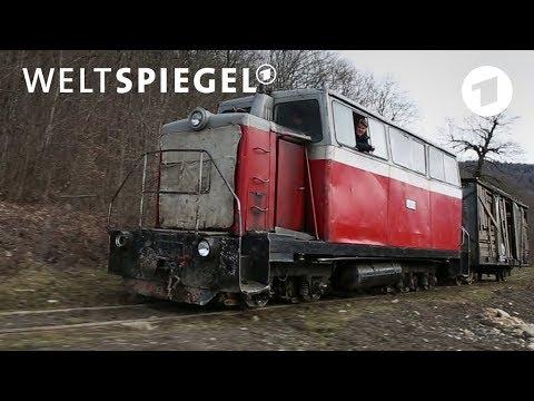 Kaukasus: Kein Leben ohne Schmalspurbahn | Weltspiegel