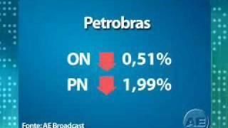 A Bovespa teve um pregão bastante volátil, empurrada para cima pelas notícias e indicadores externos e, para baixo, pela manutenção das ações da Petrobras em território negativo.