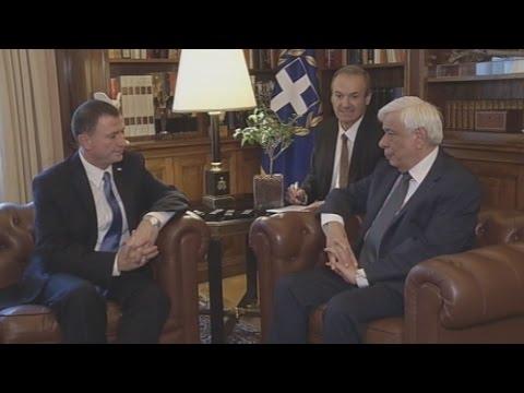 Συνάντηση του Πρ. Παυλόπουλου με τον Πρόεδρο της Κνεσέτ