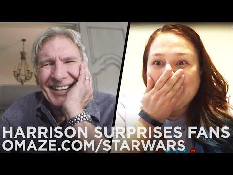 Harrison Ford Surprises Star Wars Fans