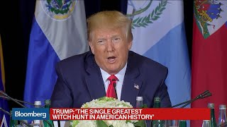 Trump Calls Impeachment Inquiry 'Greatest Witch Hunt in American History'