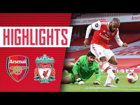 HIGHLIGHTS   Arsenal 2-1 Liverpool   Premier League   Lacazette, Nelson, Mane
