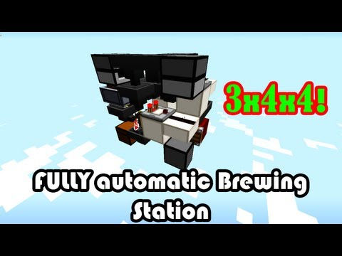 3x4x4 FULLY Automatic Brewing Station! 1.8 Perpetual Brewing! (Tutorial)
