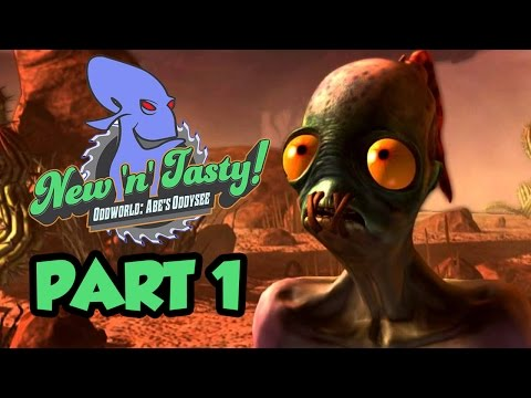 tasty - A Brand New Remake of Oddworld: Abe's Oddysee called Oddworld New N Tasty. NEW Oddworld New 'N' Tasty Gameplay Walkthrough Part 1 with commentary and Full HD...