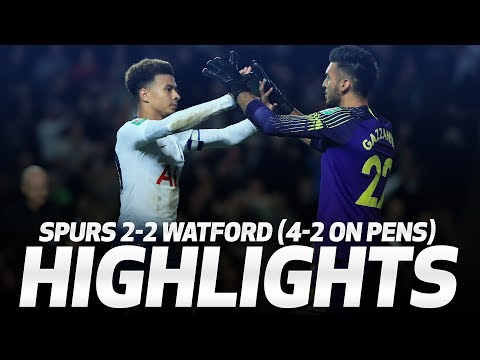 Video: HIGHLIGHTS | SPURS 2-2 WATFORD (4-2 ON PENS) | CARABAO CUP THIRD ROUND