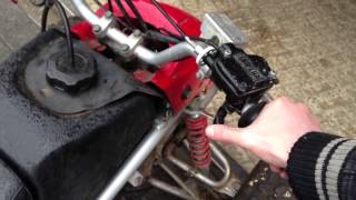 6. PROBLEM Yamaha Blaster 200cc two-stroke falls out when I op