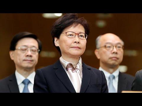 China: Hongkongs Regierungschefin Carrie Lam zieht Aus ...