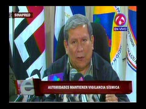 Gobierno atento a situación sísmica, pesa a relativa calma