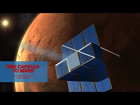 Time Capsule to Mars project