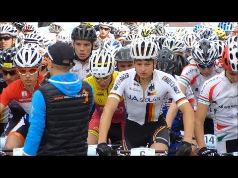 UCI Mountain Bike Junior Series, Marlene Südtirol Sunshine Race 2014, Nals, Italy (видео)