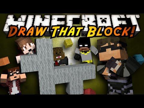 Minecraft Mini-Game : DRAW THAT BLOCK!