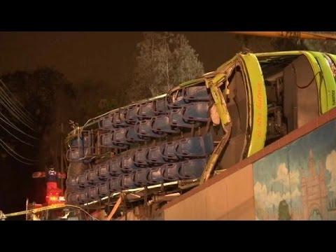 Περού: Πολύνεκρο δυστύχημα με τουριστικό λεωφορείο
