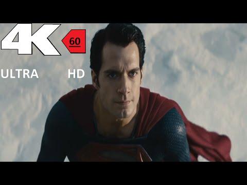 [4k] [60FPS] Man of Steel  First flight  4K 60FPS HFR[UHD] ULTRA HD