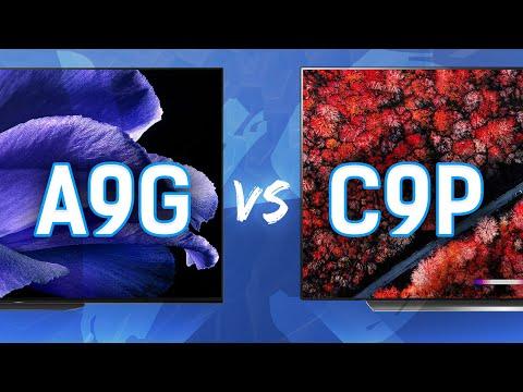 2019 4k OLED Comparison: Sony A9G vs LG C9P