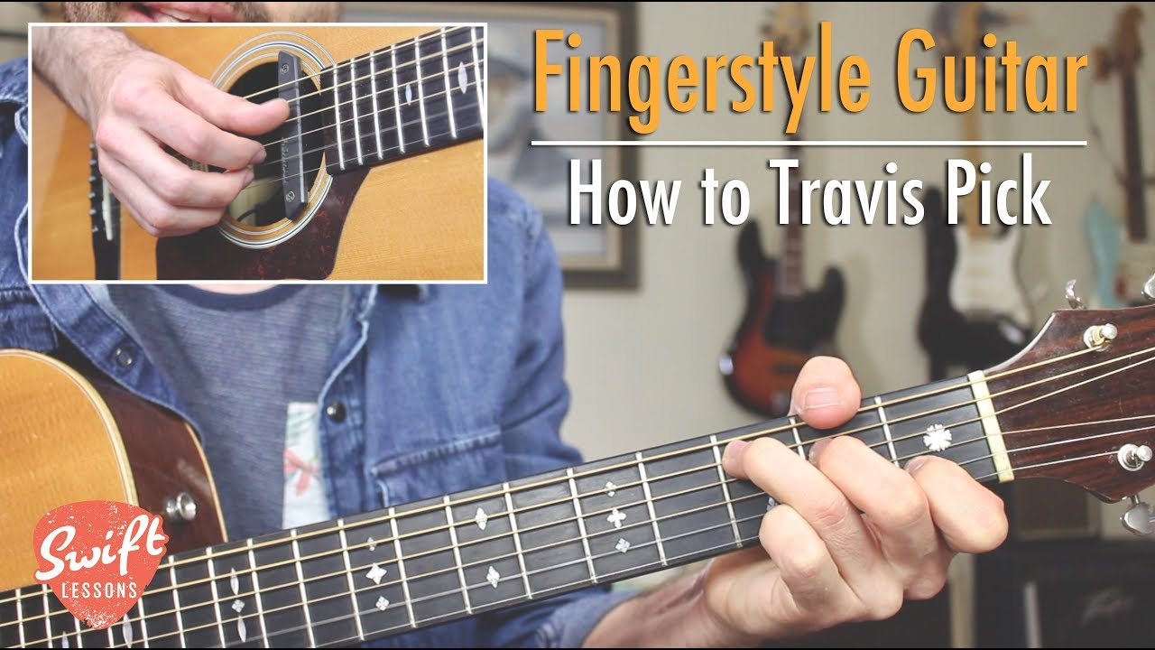 Beginner Fingerstyle Guitar Lesson – How to Play Travis Style