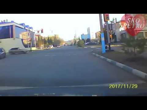 Авария с пешеходом в Петропавловске