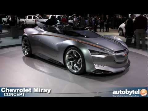Chevrolet Miray hybrid concept at the 2012 Detroit Auto Show