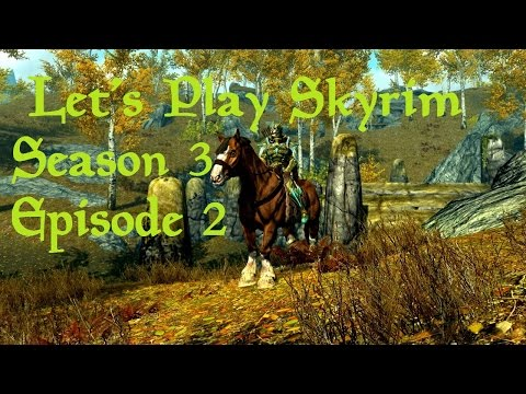 Lets Play Skyrim (Falskaar) - Season 3 Episode 2 - Amber Creek: City of Quests