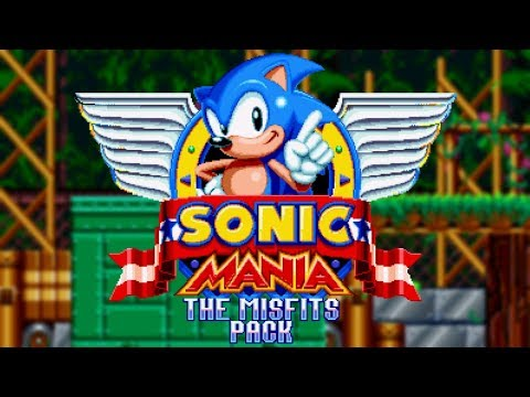 Sonic Mania - The Misfits Pack! (SAGE 2018 - Sonic Mania Plus Mods) (видео)