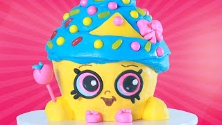 Download Youtube: SHOPKINS CUPCAKE QUEEN CAKE - NERDY NUMMIES