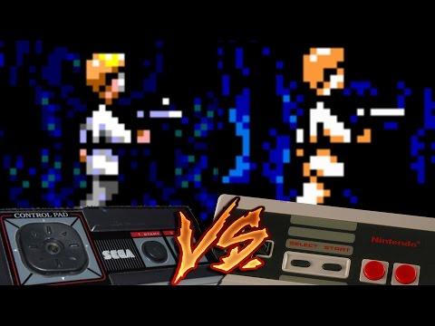 NES Vs Sega Master System - Star Wars