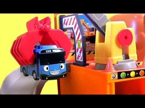 Tayo the Little Bus Big Loader Construction Set with Cars & Dump Truck Car Toy 꼬마버스타요견인차 토토 Disney